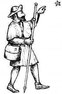Pilegrim figur
