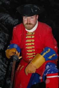 Geir Nordhus spiller en norsk artillerikaptein